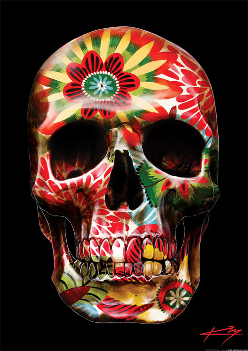 skull-art-prints-by-Gerrard-King