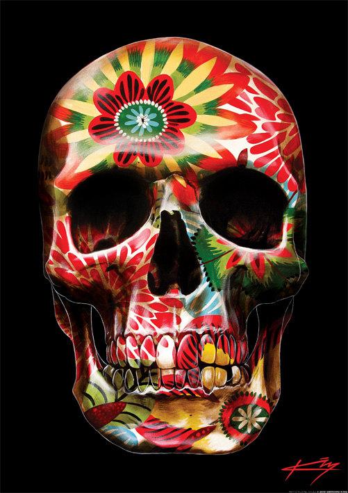 skull-art-prints-by-Gerrard-King