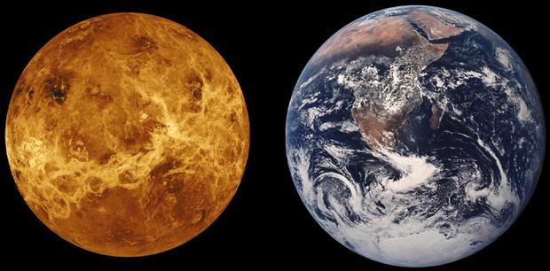Venus Earth