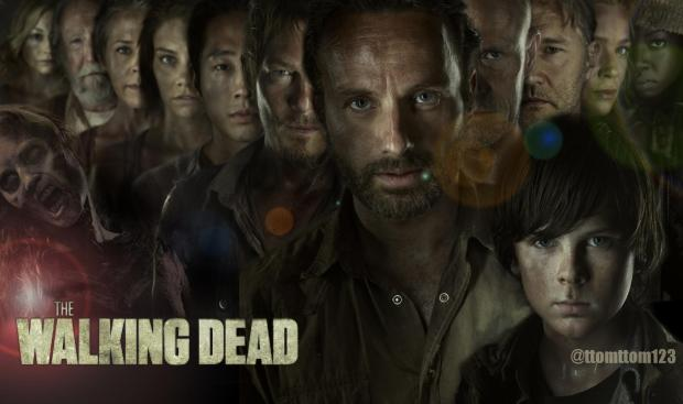 Walking dead_cast_wallpaper